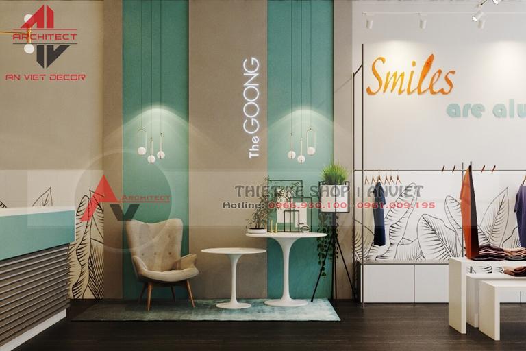 thiết kế trọn gói shop thời trang nữ