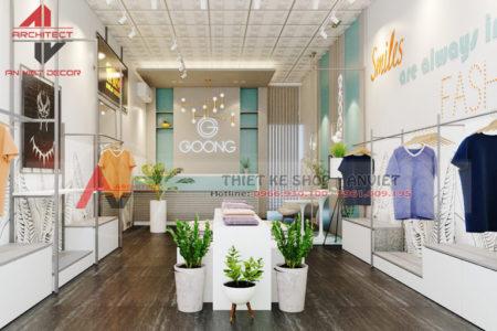Thiết kế shop Thời Trang NỮ cực ẤN TƯỢNG tại Bắc Ninh