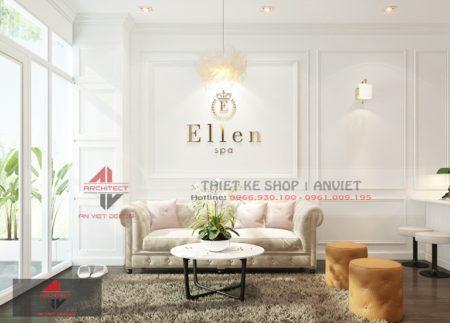 Thiết kế không gian SPA ELLEN Sang Trọng tại Hà Nội