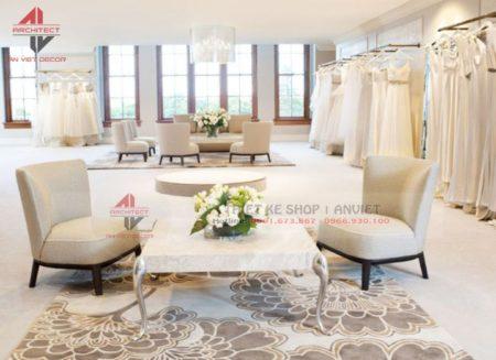 10+ Mẫu thiết kế Showroom cửa hàng áo cưới ĐẸP LUNG LINH