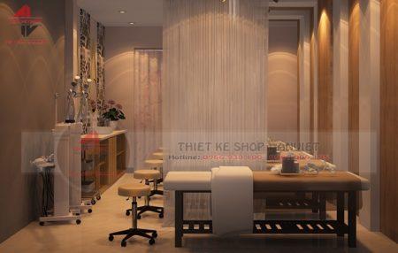 Mẫu thiết kế spa ĐẸP ĐỘC ĐÁO 60m2 ở Nghệ An