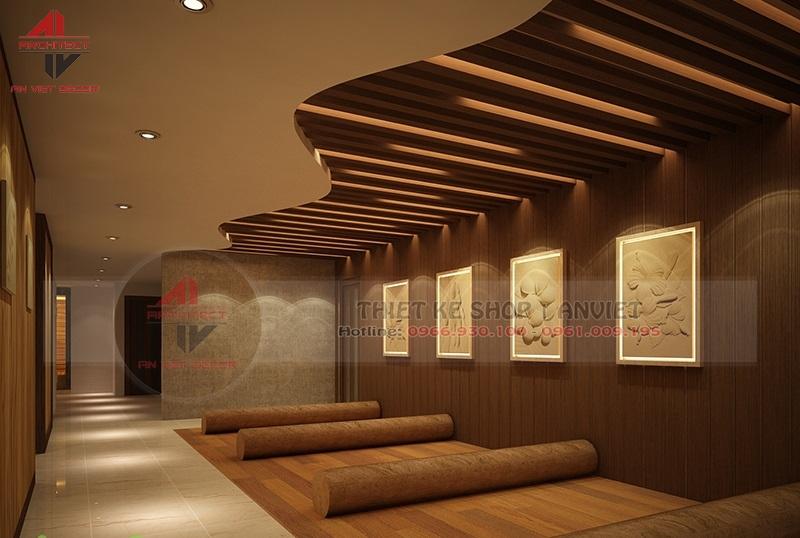 Thiết kế hoàn thiện SPA chuyên nghiệp 120m2 tại Hà Nội