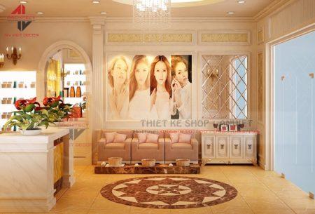 Thiết kế nội thất Beauty & Spa 80m2 hiện đại tại HN