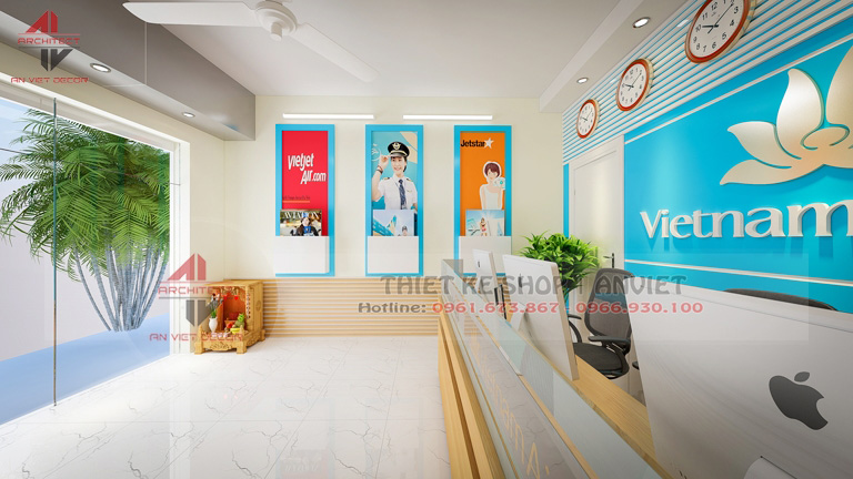Thiết kế nội thất văn phòng nhỏ đẹp 30m2 tại Hà Nội