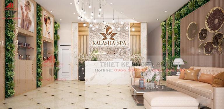 Trang trí nội thất Beauty Spa Salon 200m2 tại Thanh Hóa