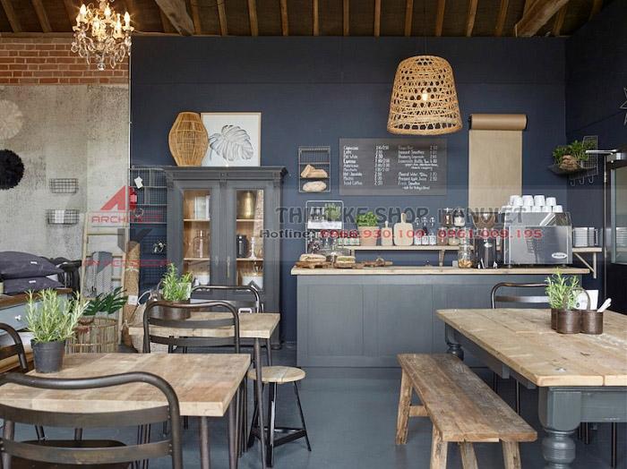 Ý tưởng thiết kế QUÁN CAFE VINTAGE thu hút mọi khách hàng