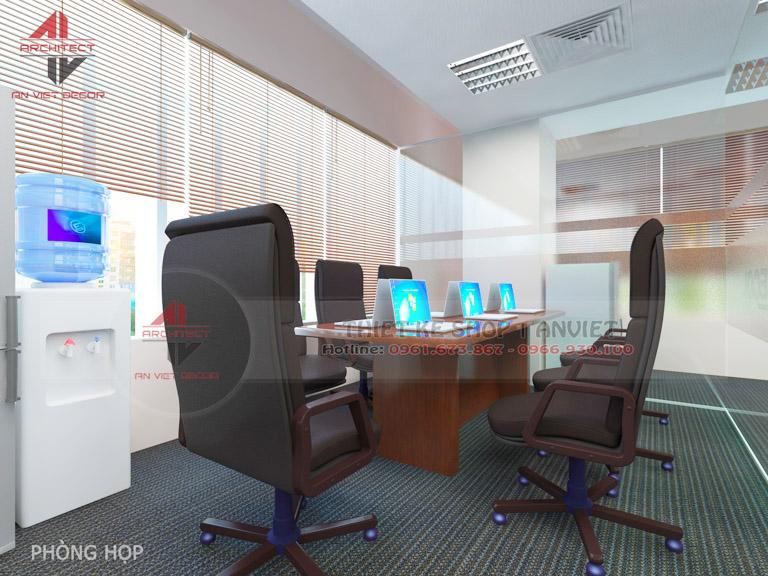 Mẫu thiết kế văn phòng chuyên nghiệp CTY Nam Đông Dương 120m2 -14