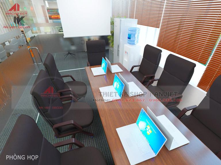 Mẫu thiết kế văn phòng chuyên nghiệp CTY Nam Đông Dương 120m2 -15