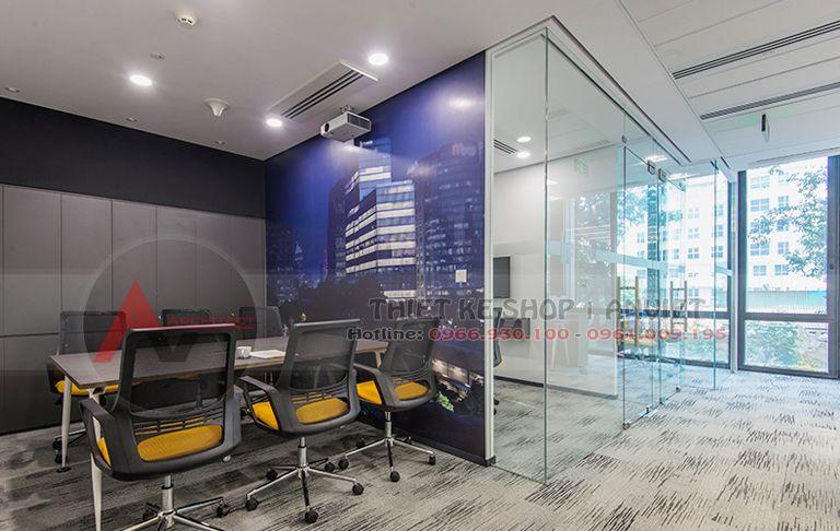 Hoàn thiện nội thất văn phòng đại diện chuyên nghiệp 60m2