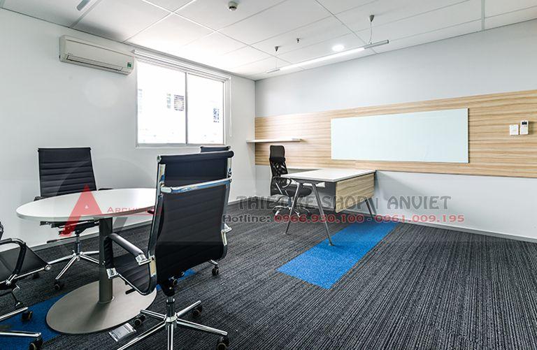 Thiết kế nội thất văn phòng giá rẻ 200m2 tại Hải Phòng