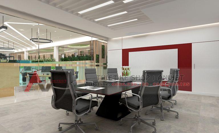 Thiết kế văn phòng công ty hiện đại 500m2 - 10