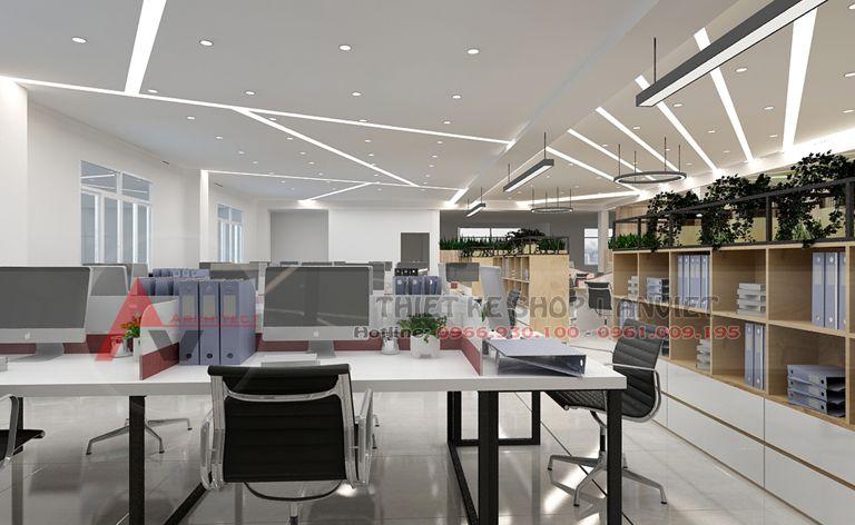 Thiết kế văn phòng công ty hiện đại 500m2 - 13