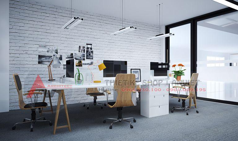 Thiết kế văn phòng công ty hiện đại 500m2 - 8