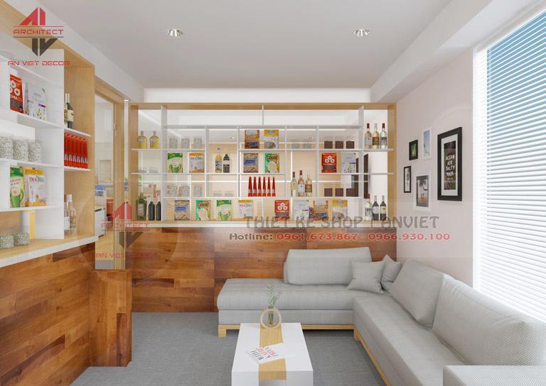 Trang trí nội thất văn phòng nhỏ đẹp 35m2 tại Hà Nội -2