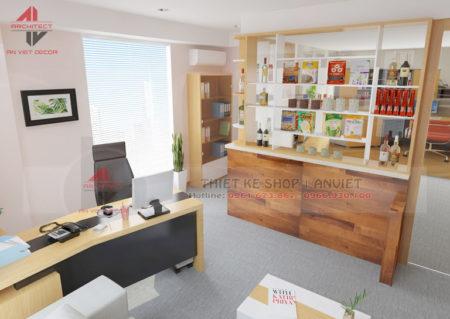 Trang trí nội thất văn phòng nhỏ đẹp 35m2 tại Hà Nội