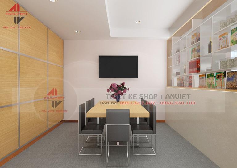 Trang trí nội thất văn phòng nhỏ đẹp 35m2 tại Hà Nội -5
