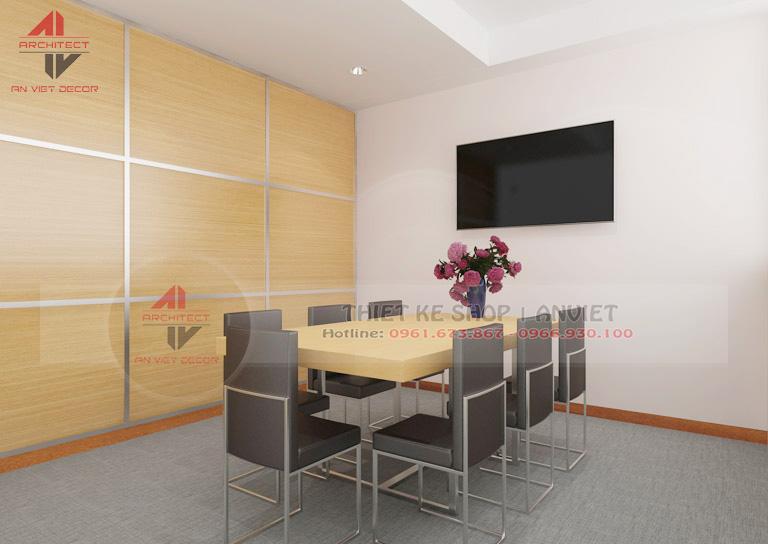 Trang trí nội thất văn phòng nhỏ đẹp 35m2 tại Hà Nội -6