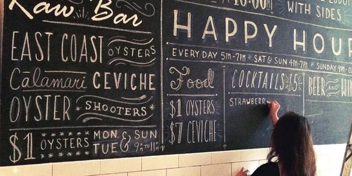 5 Kiểu thiết kế menu cho quán cafe ĐẸP BẮT MẮT - HANDWRITTEN MENU
