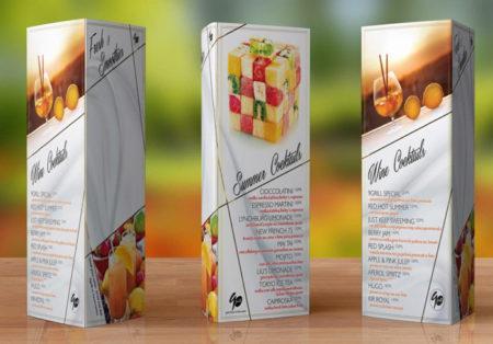 5 Kiểu thiết kế menu cho quán cafe ĐẸP BẮT MẮT
