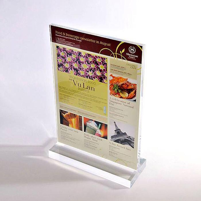 5 Kiểu thiết kế menu cho quán cafe ĐẸP BẮT MẮT - LOẠI MENU CAFE ĐỂ BÀN