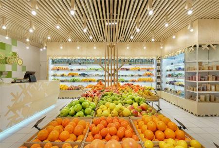 Cách trang trí trưng bày nội thất siêu thị mini hiệu quả