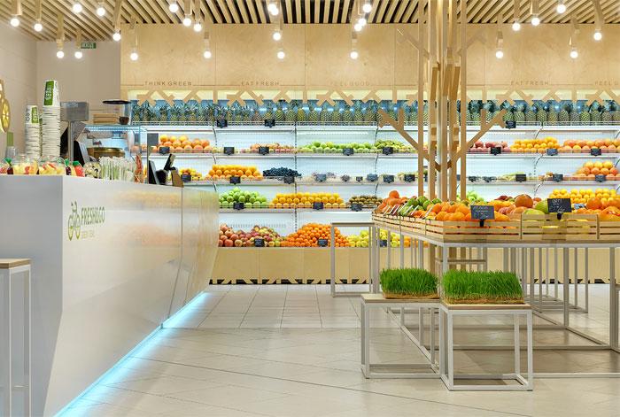 Cách trang trí trưng bày nội thất siêu thị mini hiệu quả 3