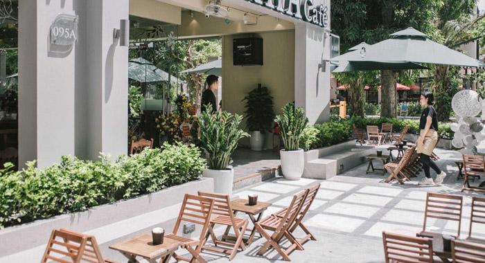 Mẫu thiết kế quán cafe vỉa hè ĐỘC ĐÁO