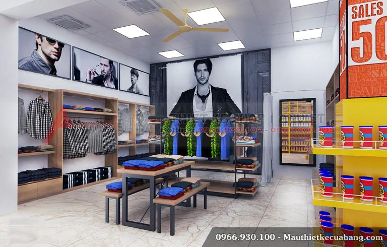 Mẫu thiết kế siêu thị đẹp chuyên nghiệp Mini Mart 200m2 4
