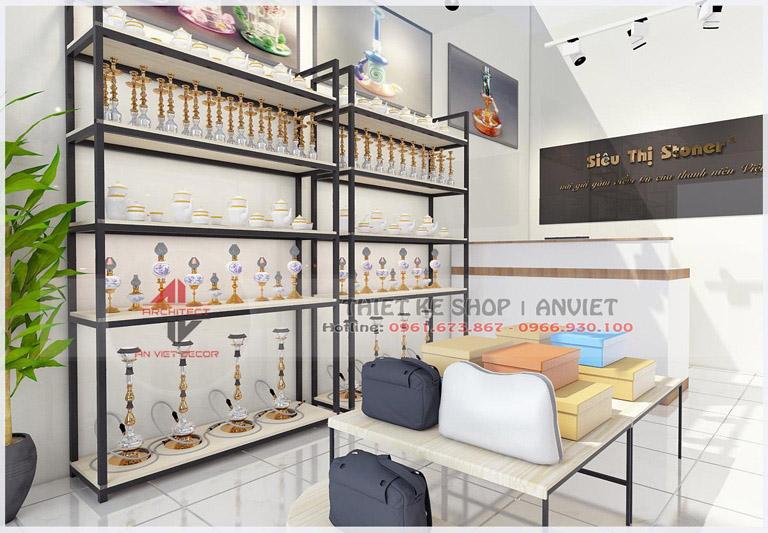 Thiết kế cửa hàng Stoner 30m2 tại Hoàng Mai Hà Nội 2