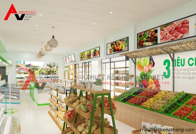Thiết kế siêu thị minimart 80m2 ĐẸP THU HÚT KHÁCH HÀNG 5