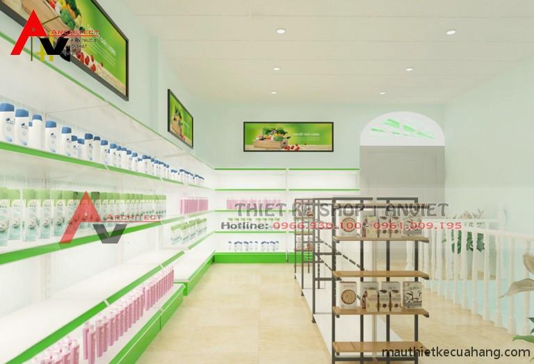 Thiết kế siêu thị minimart 80m2 ĐẸP THU HÚT KHÁCH HÀNG 6