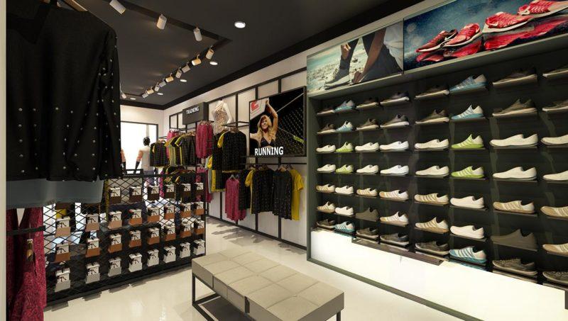 Mẫu thiết kế cửa hàng thời trang nam đẹp hiện đại 40m2 5