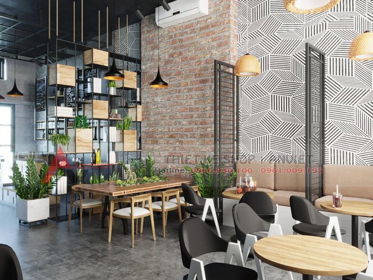Thiết kế quán cafe phong cách Scandinavi đẹp 80m2 2