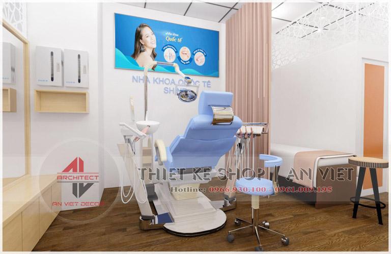 Mẫu thiết kế phòng khám nha khoa nhỏ hiện đại 30m2  4
