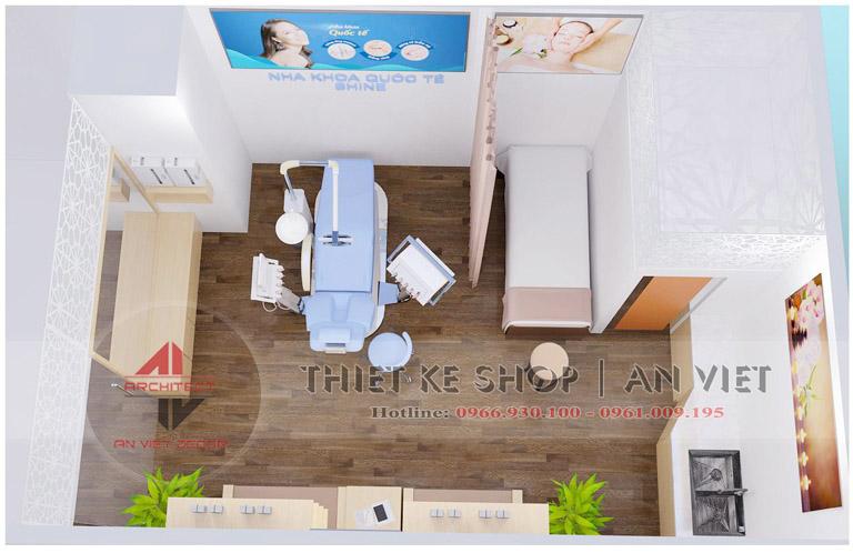 Mẫu thiết kế phòng khám nha khoa nhỏ hiện đại 30m2  5