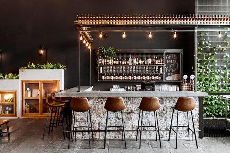 quán cafe phong cách rustic
