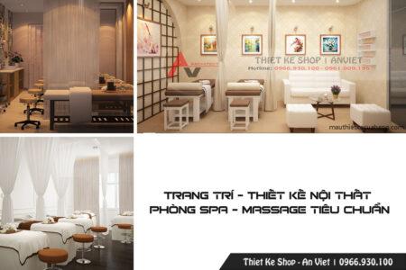Thiết kế nội thất Phòng Massage Spa tiêu chuẩn