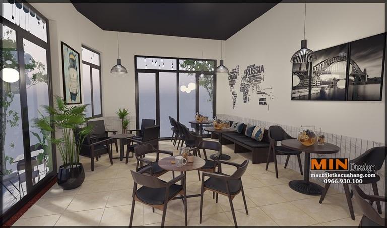 Thiết kế quán cafe 1978 phong cách hiện đại