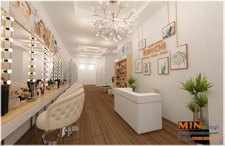 Thiết kế studio showroom áo cưới 50m2 tại Đông Anh Hà Nội