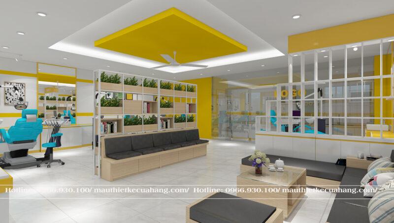 Thiết kế nội thất Phòng Khám Đa Khoa 80m2 tại Hà Đông