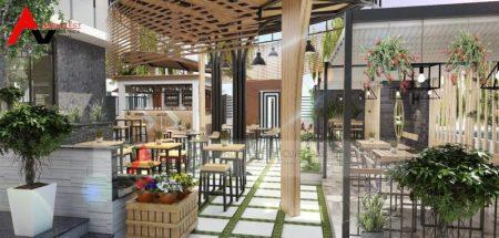 Thiết kế quán cà phê sân vườn nhỏ cho người mới kinh doanh