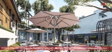 Thiết kế quán cà phê sân vườn với 3 mẫu đẹp và độc đáo