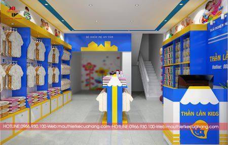 Mẫu thiết kế cửa hàng mẹ và bé : 3 mẫu được ưu chuộng nhất 2021