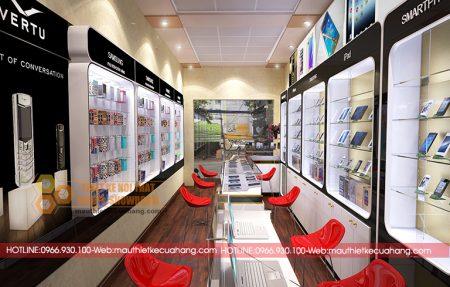Thiết kế cửa hàng điện thoại nhỏ: Kinh nghiệm cần thiết khi thiết kế